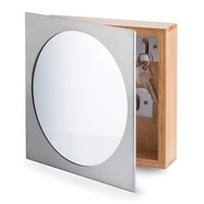 Sleutelkastje met spiegel