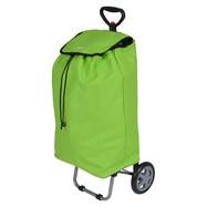 Boodschappentrolley TULIP 35 liter groen