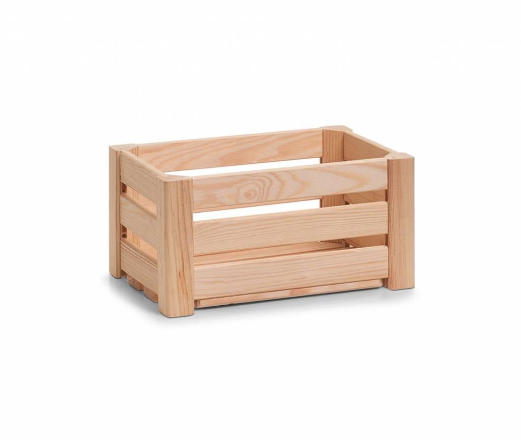Houten krat 30 x 20 x 15 cm opbergspecialist - X houten ...