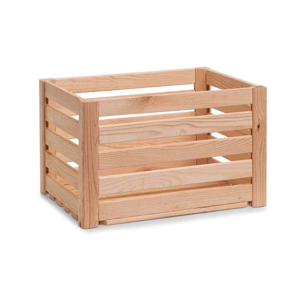 Houten krat 40 x 30 x 24 cm opbergspecialist - X houten ...