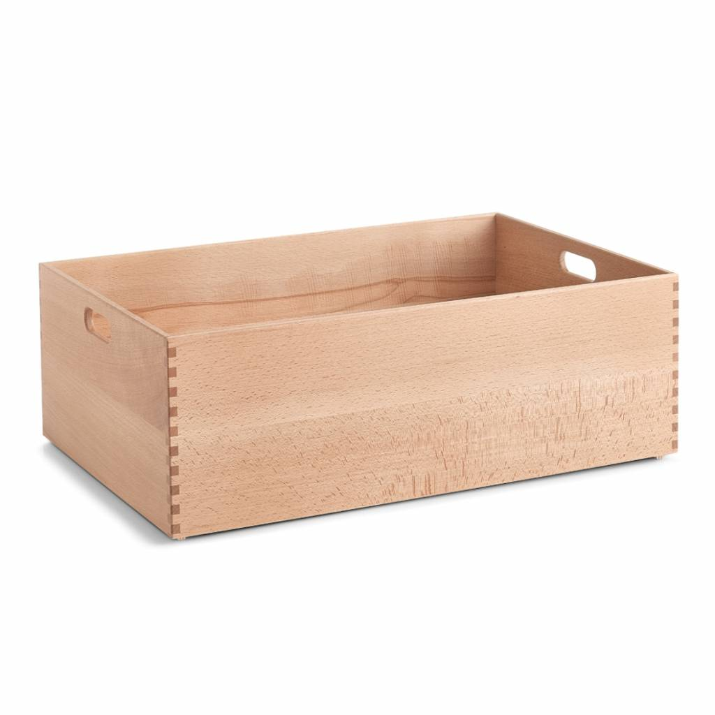houten kist gelakt 60 x 40 x 21 cm opbergspecialist. Black Bedroom Furniture Sets. Home Design Ideas
