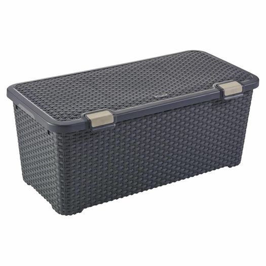 Style Trunk opbergbox 72 liter antraciet