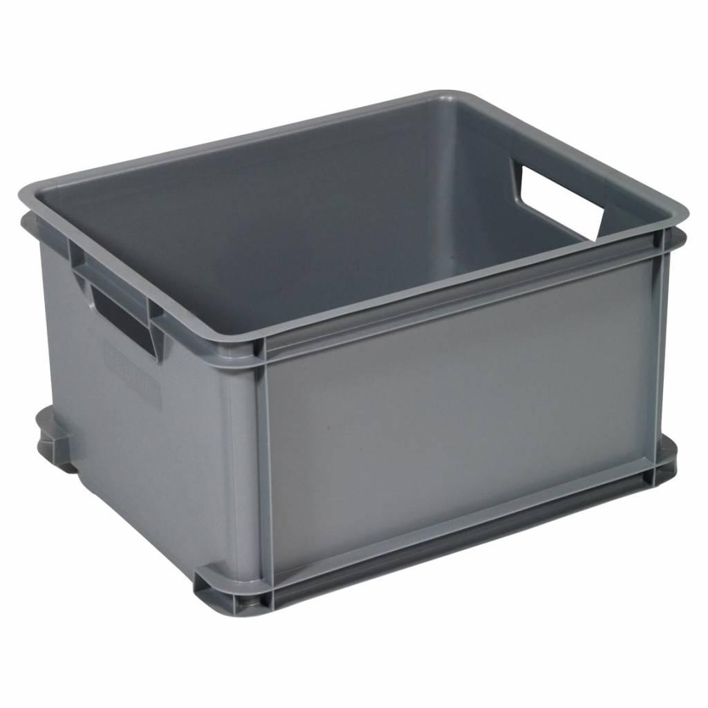 unibox classic l grijs opbergspecialist. Black Bedroom Furniture Sets. Home Design Ideas
