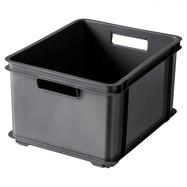 Opbergbox met handgrepen stapelbaar 30 L