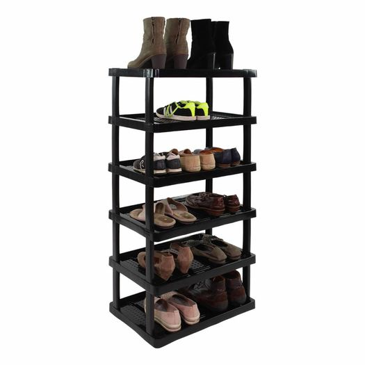 Schoenenrek met 6 etages