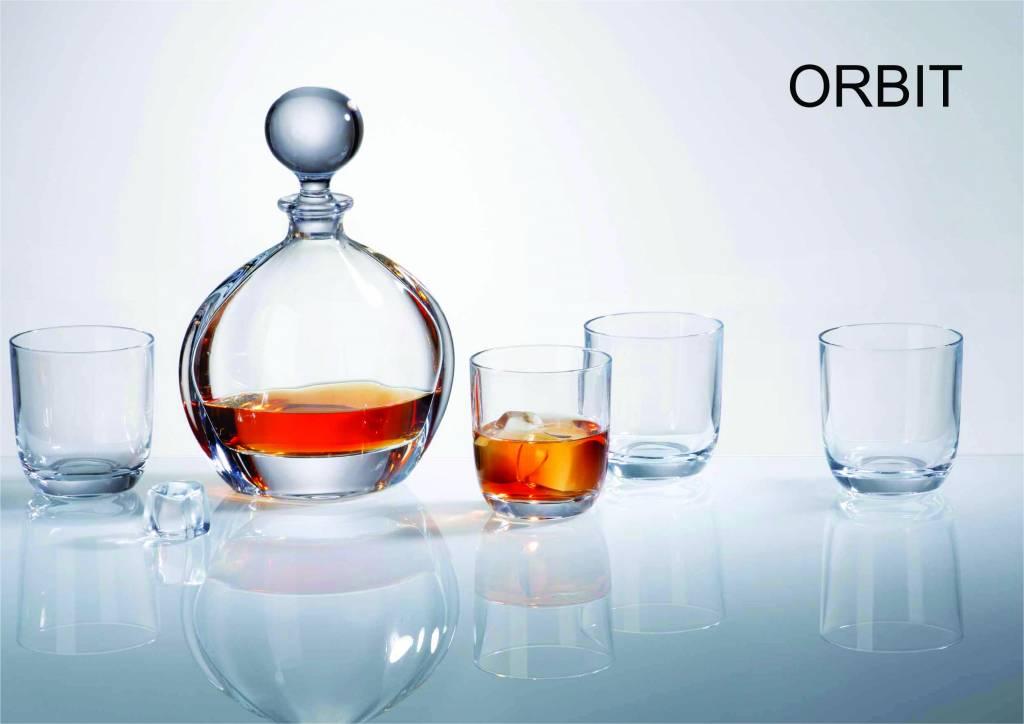 Crystalite Whisky set Orbit 7 delig