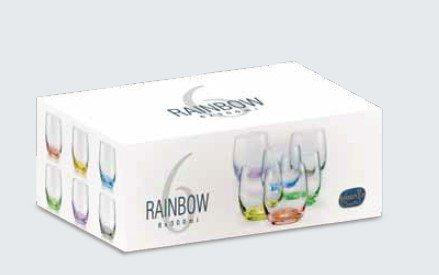 Rainbow Waterglazen 300ml