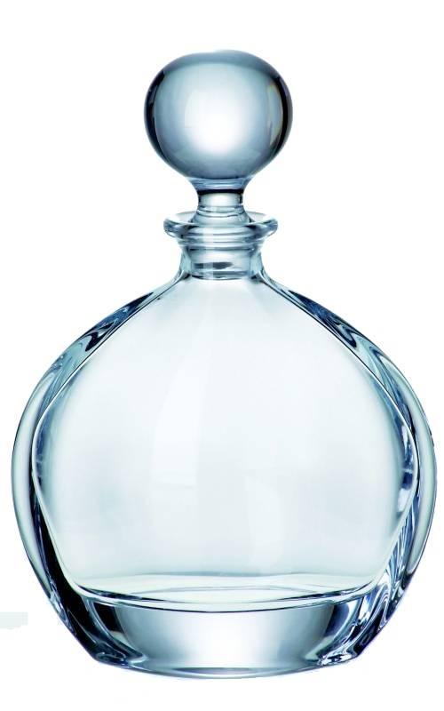 Crystalite Whisky karaf of cognac karaf Orbit. Inhoud 700ml.