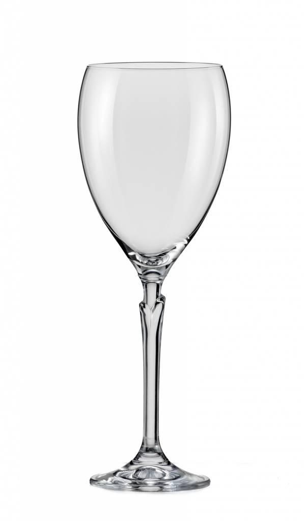 Crystalex Wijnglazen Lilly 450ml