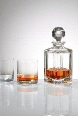 Bohemia Whisky set 3 delig . Karaf + 2 whiskyglazen