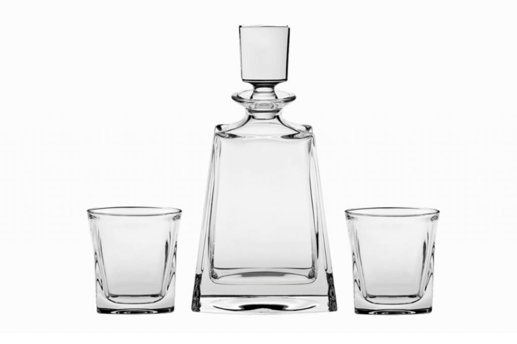 Bohemia Whisky set Kathrene 3 delig .