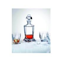 Crystalex Whisky set Quadro 3 delig .