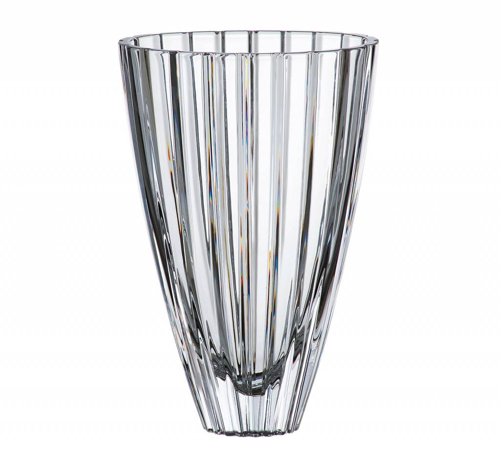 Crystalex Vaas Oval 30,5cm hoog
