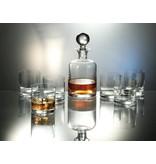 Boha Whisky set 7 delig. Karaf + 6 whisky glazen