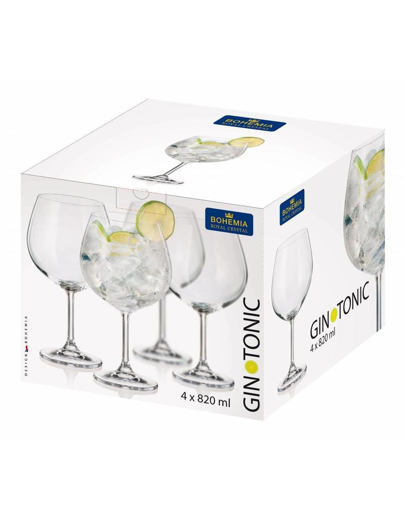 Bohemia Gin Tonic 820ml. 4 stuks