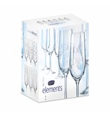 Crystalex Elements champagneglazen 190ml
