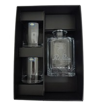 Kathrene 700 long Whisky set 3 delig . Karaf + 2 whiskyglazen -