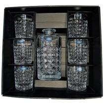 Trio Whiskyset 7 delig, 1 karaf en 6 glazen