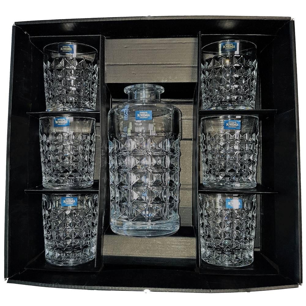 Cadeauverpakking whisky sets Lege luxe cadeaudoos Groot  t.b.v. whisky set: karaf + 4 glazen  of 6 glazen