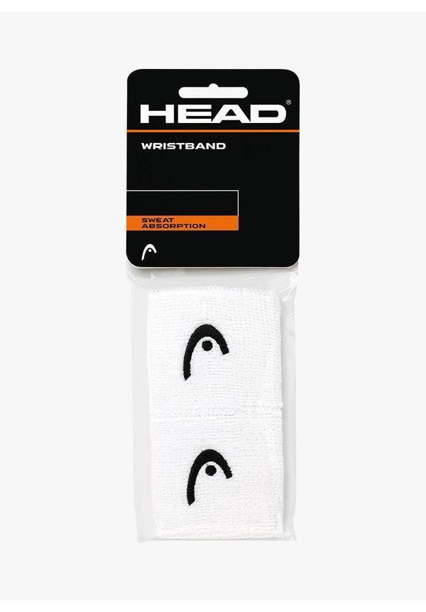 """Head Wristband 2,5"""" - 2 Pack - White"""