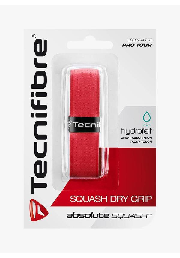 Tecnifibre Squash Dry Grip - Red