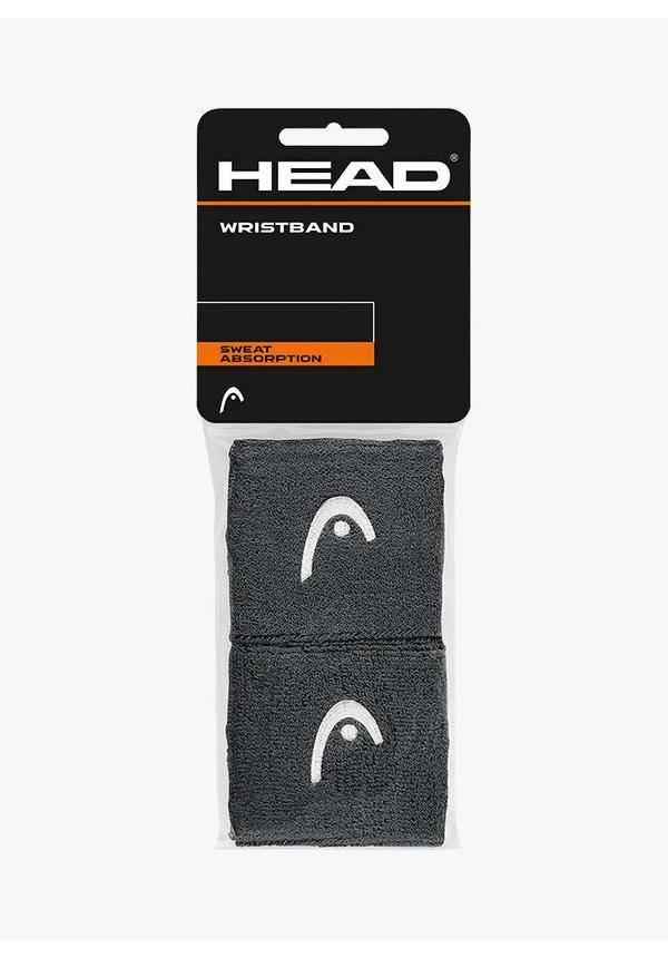 """Head Wristband 2,5"""" - 2 Pack - Anthracite"""