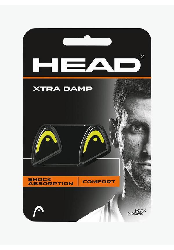 Head Xtra Dampener - 2 Pack -  Black / Yellow