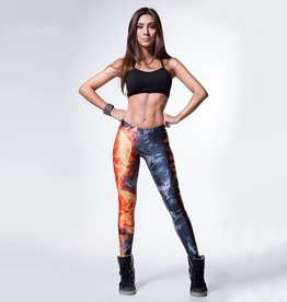 Labellamafia SKULL ON FIRE Legging - Labellamafia