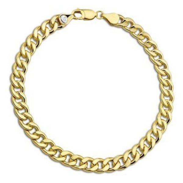 gouden armband geslepen gourmet