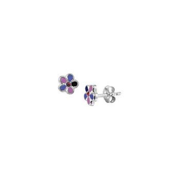oorknoppen bloem paars