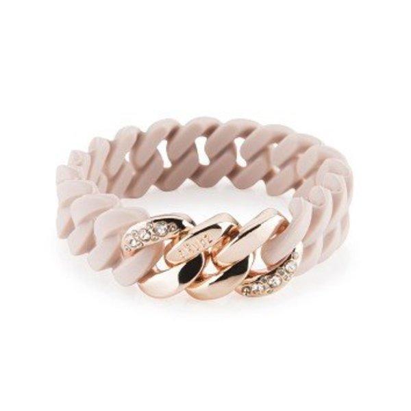 The Rubz armband Crystal mini rose-rose