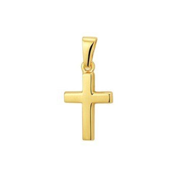 geelgouden hanger kruis