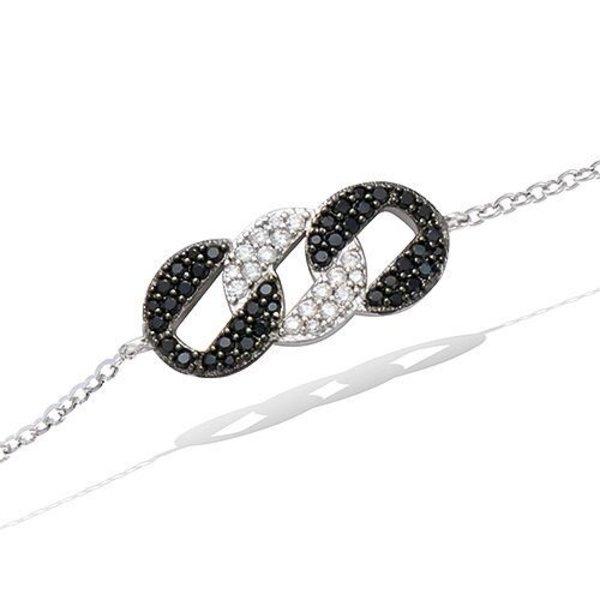 Bracelet Rond Zwart