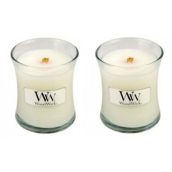 WoodWick® Mini Candle Baby Powder 2 stuks