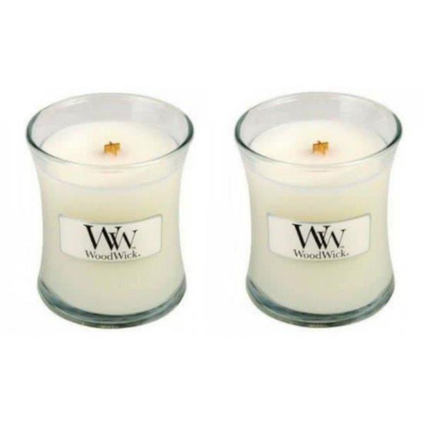 WoodWick® Mini Candle Baby Powder 2 stuks