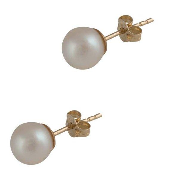 Cataleya Earrings Pearl