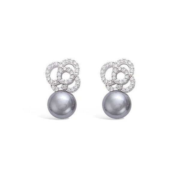AG925 Earrings Camelia