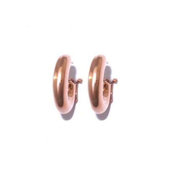 Valerie Small Rose Gold Creoles