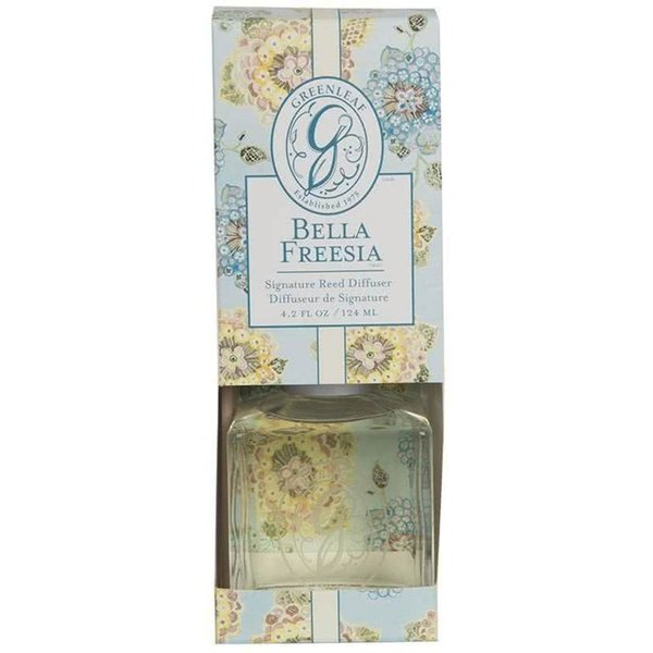 Greenleaf Geurstokjes / Reed Diffuser Bella Freesia