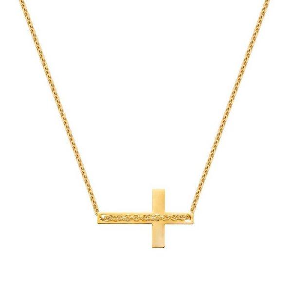 Elite Collier Cross (9kt)
