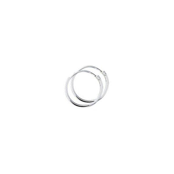 Creolen Ronde Buis - Zilver - 1.3 mm