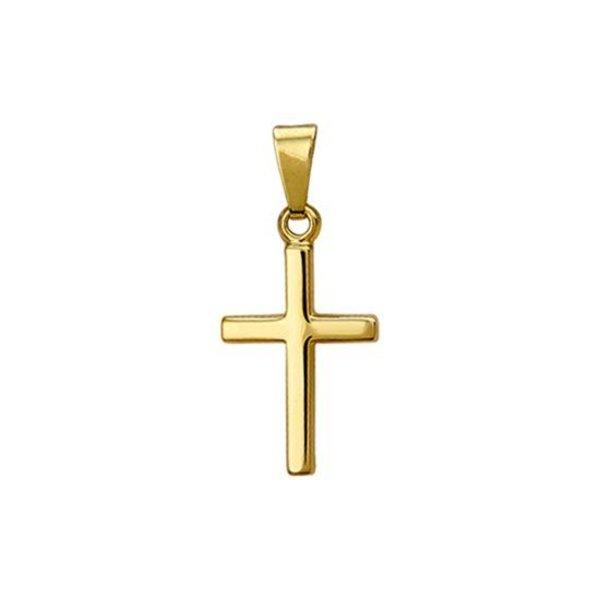 Hanger Kruis - Geelgoud (14 Krt.)