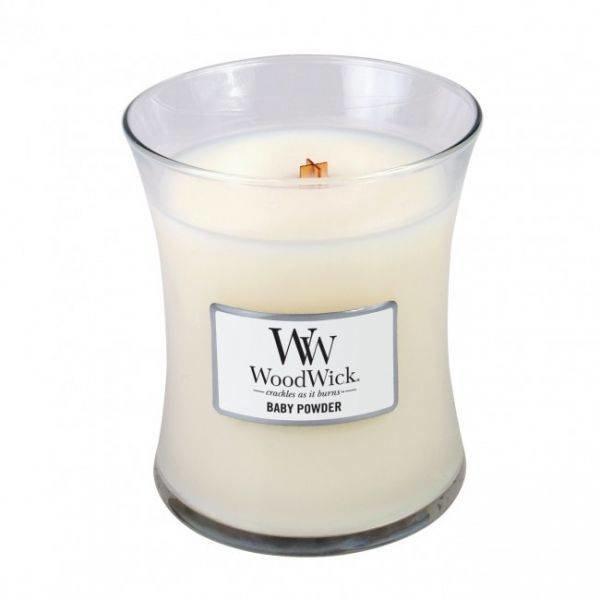 Medium Candle Baby Powder