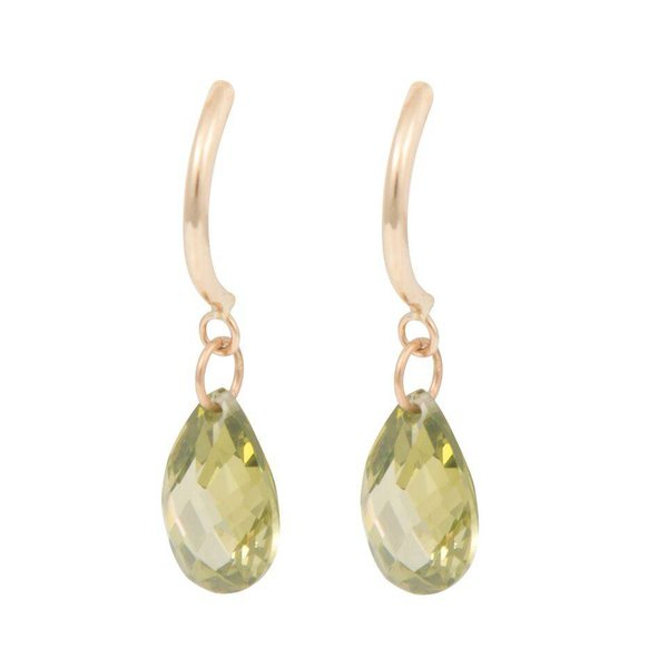 Earrings Half Hoop & Pear