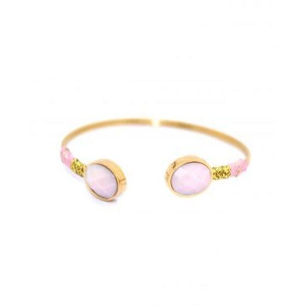 Nicky Baby Pink Bracelet