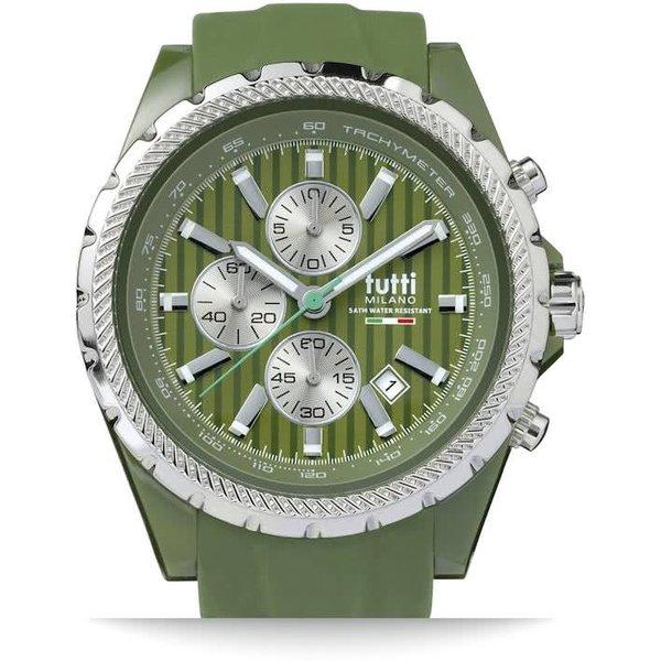 TM005AG- Horloge - 48 mm - Groen - Collectie Meteora