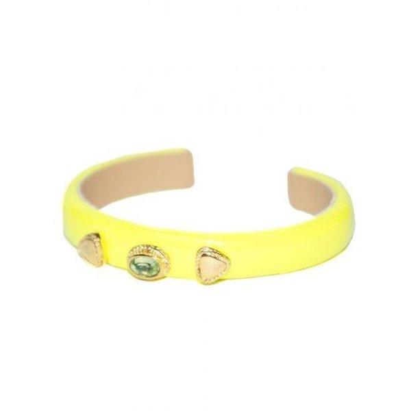 Nina Bracelet Neon Yellow