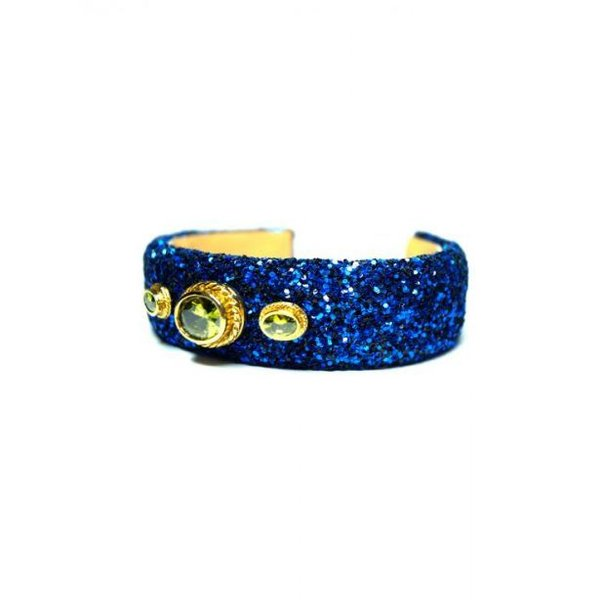 Evi Blue Glitter Bracelet