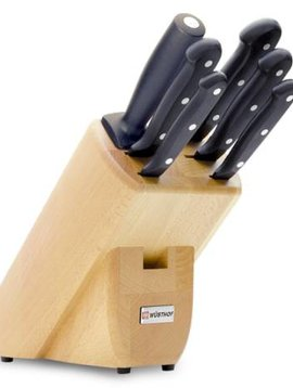 WUSTHOF Messerblock WUSTHOF GOURMET 6 Teile - 9831