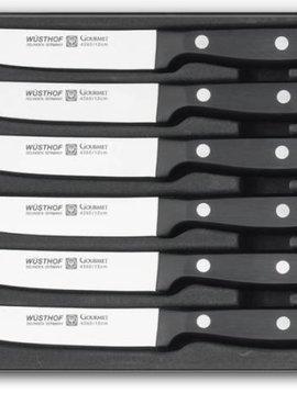 WUSTHOF Steakmessenset GOURMET 6-dlg. -9728